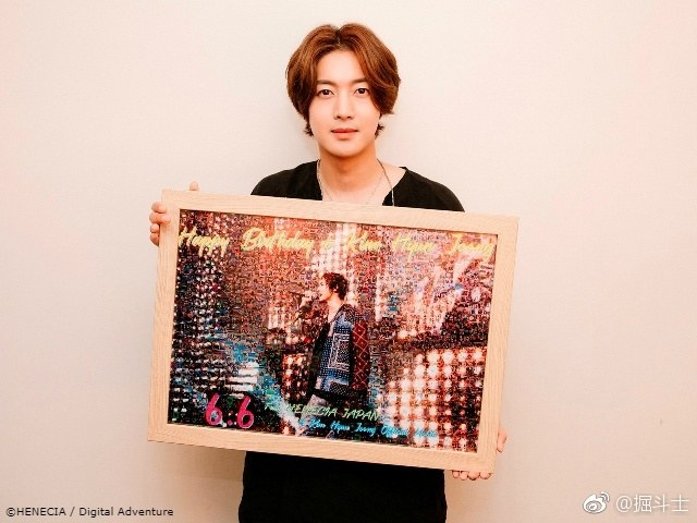 Henecia Japan official website updated ... cover birthday photo collection certified according to the draw